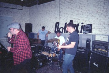 Coronary opens the inaugural show at Galaxie 2.0
