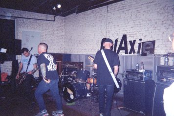 x one foot in the grave x brought Galaxie 2.0's first show to an end